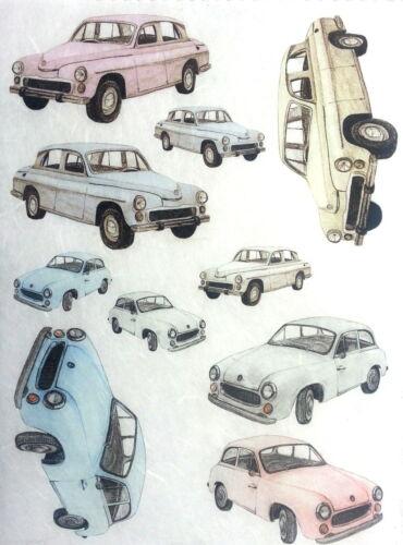 Rice Decoupage Paper//DECOUPIS feuilles//scrapbooking//Cars 2//Craft Art C39