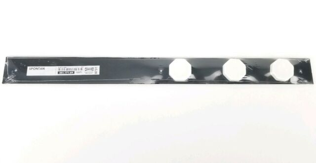 IKEA Spontan Magnetic Message Strip Wall Rail Noticeboard 3 White Magnets New