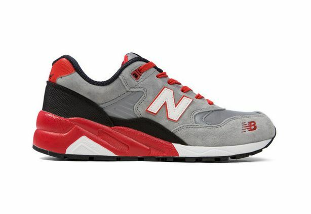 New Balance Homme MRT580SR Mecha in  Gris /Rouge NWT Free Shipping