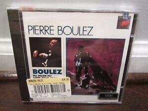 Pierre-Boulez-Pli-selon-pli-Livre-pour-cordes-CD-Dec-1995-NEW