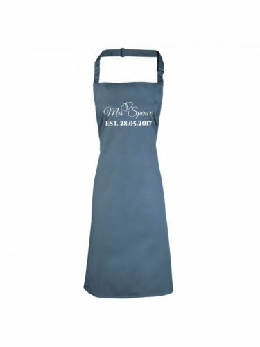 Apron Queen Of The Kitchen Quality Print /& Personalised Name Mothers Day /& Mums