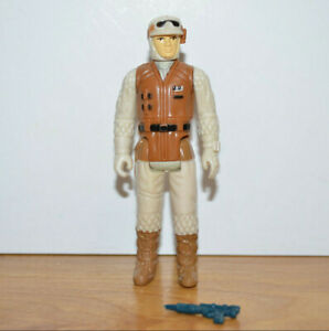 """Vintage Star Wars HOTH REBEL SOLDIER Action Figure 1980 Kenner 3.75"""" Complete"""