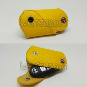Details about Key Case for Nissan Cube Tiida LIVINA NEW MARCH JUKE GT-R in  Yellow COLOR