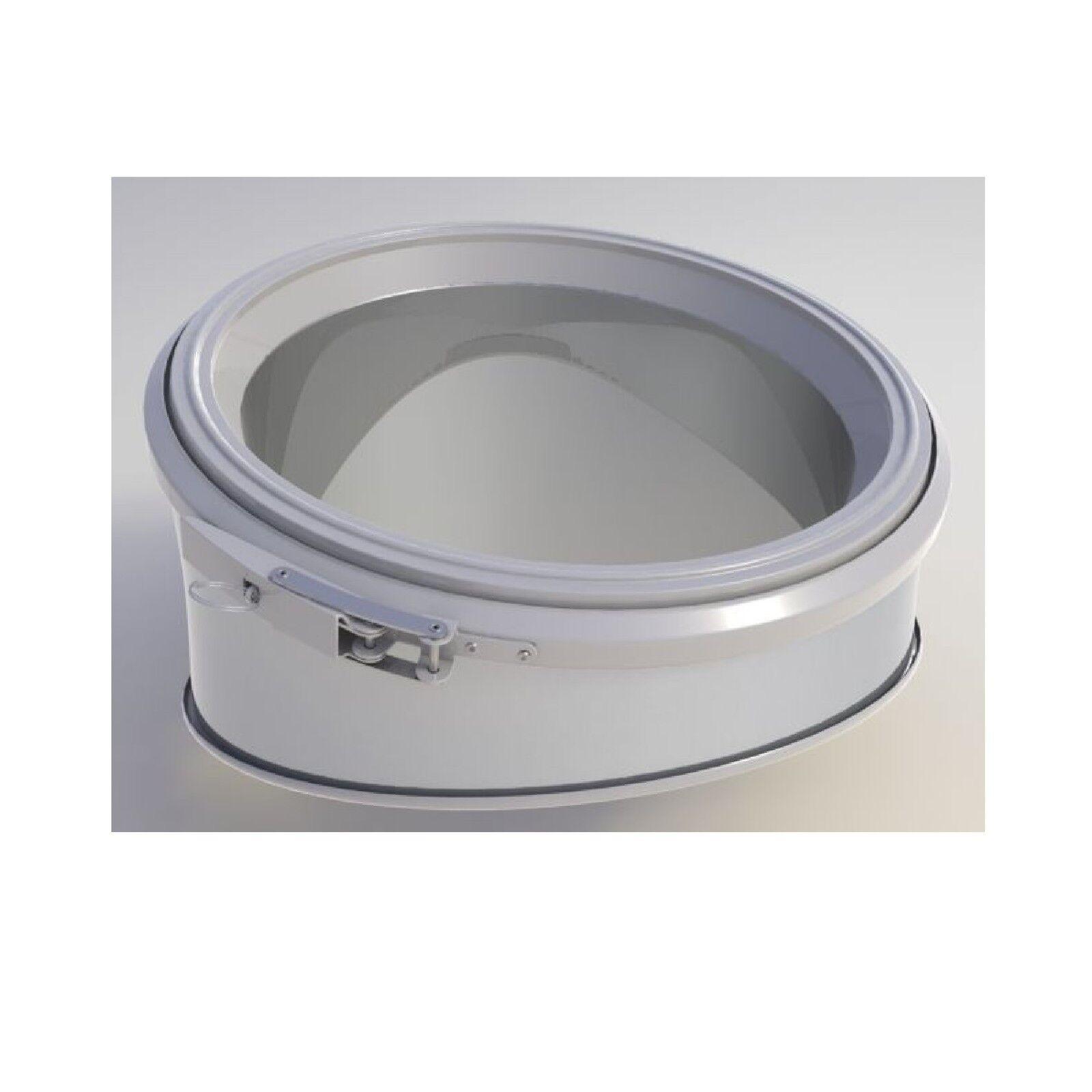 Coude GI 22,5° pour Galvinox Diamètre 230 mm Conduit de Cheminée NEUF