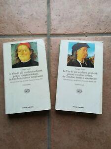 034-Le-Vite-034-Giorgio-Vasari-2-Volumi-edizione-Einaudi