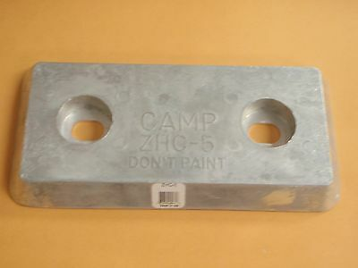ZINC ANODE HULL BOAT 70 A40 TRANSOM MARINE SALTWATER PLATE CAMP BOATINGMALL