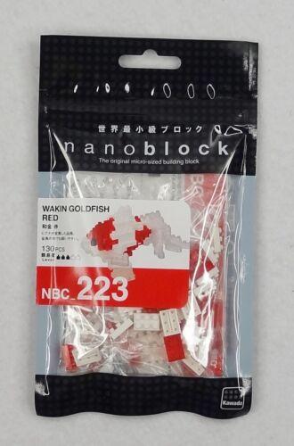 nanoblock NBC/_223 Wakin Goldfish Red