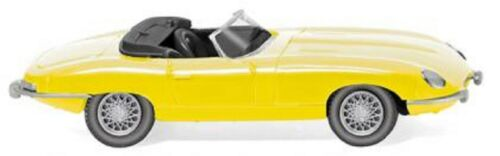 1:87 /_ Nuovo//Scatola Originale Wiking 081706-JAGUAR E-Type Roadster giallo
