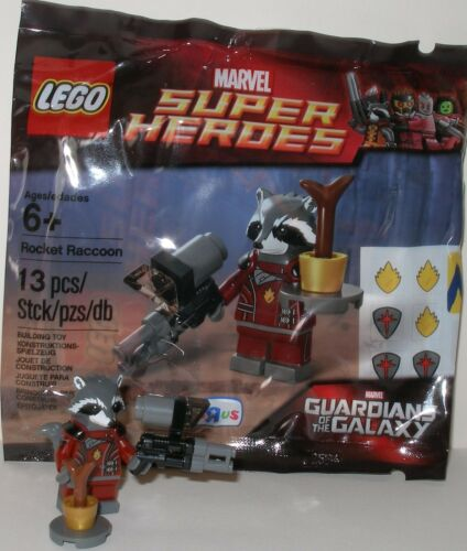 Guardians of the Galaxy OVP Lego 5002145 Rocket Racoon mit Waffe Super Heroes
