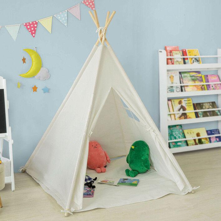 SoBuy SoBuy SoBuy Tipizelt Spielzelt Zelt für Kinder m. Fenster Spielhaus Kinderzelt OSS03-W ee664b