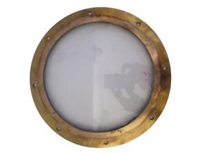 9 INCHES GLASS Window VINTAGE ship/'s BRASS PORT HOLE 1533 Porthole