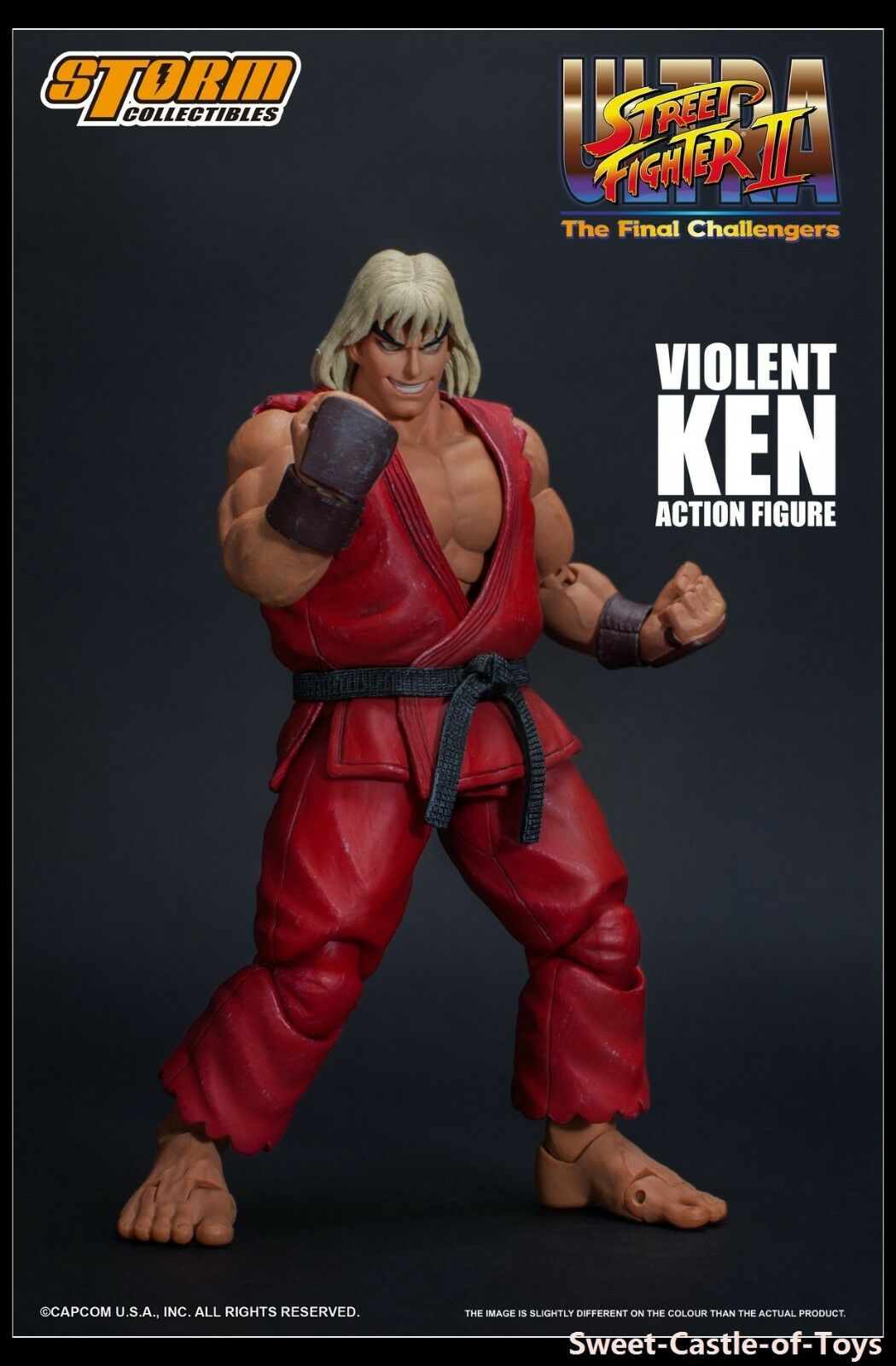1 12 Storm Toys Ultra Street Fighter II The  Final Challengers Violent Ken