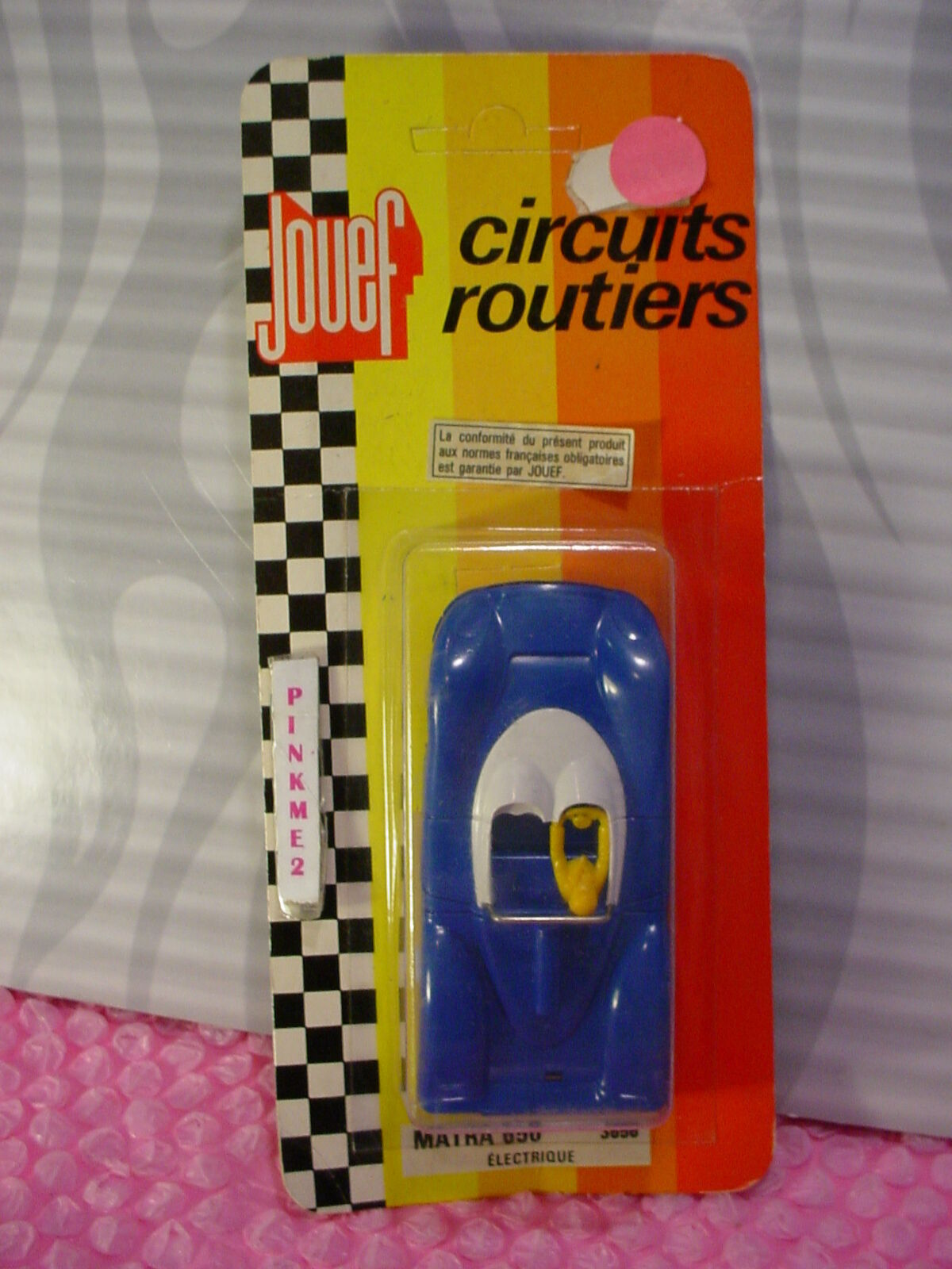 Vintage Jouef MATRA 650✰3656✰Electrique ✰car Made in France✰circuits routiers
