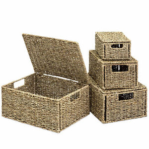 BCP-Set-of-4-Seagrass-Storage-Baskets-w-Lids-Natural