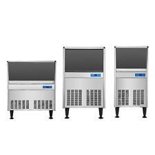 Vevor Commercial Ice Maker Ice Machine Ice Cube Maker Heavy Duty Stainless Steel