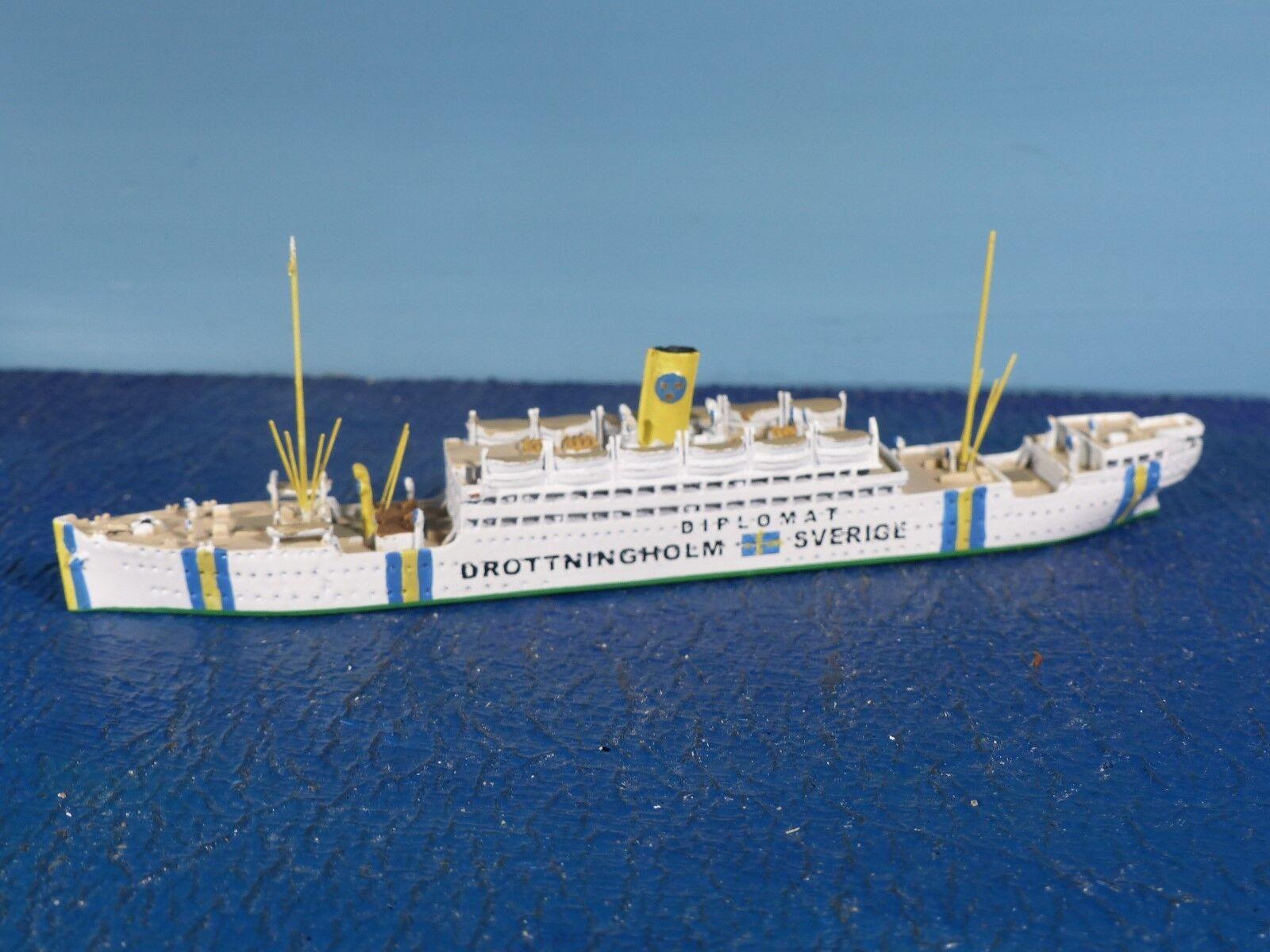 Albatros navire 1 1250 1250 1250 P. paquebot  Drougetningholm  Al 71 S Nouveau neuf dans sa boîte c1e635