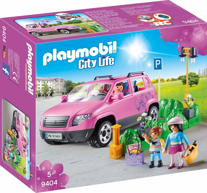 Playmobil 9404 City Life Family Car Car Car with Parking Space 8ab23c