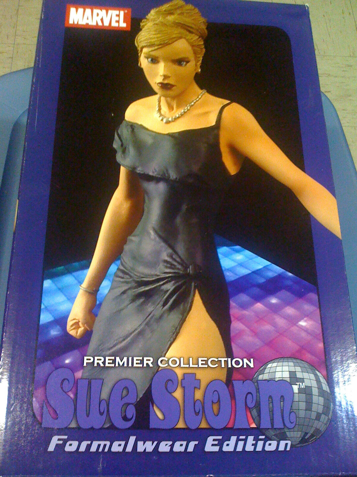 Marvel Sue Storm Formal Wear Limited Edition Statue 56 1000 NEW FREE SHIP US