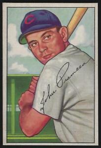 1952-Bowman-247-JOHN-PRAMESA-Chicago-Cubs-EX-MT