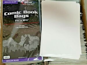 20-BCW-SILVER-AGE-COMIC-BAGS-AND-BOARDS-PROTECT-YOUR-COMIC-BOOKS