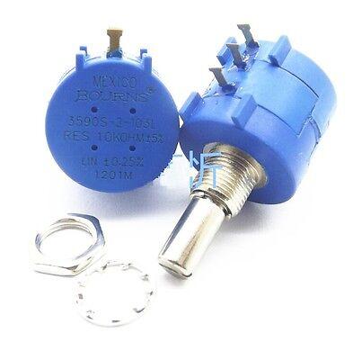 1PCS 3590S-2-103L 10K Ohm Rotary Wirewound Precision Potentiometer Pot 10 Turn