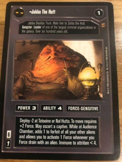 Star Wars Jabba/'s Palace CCG Card Gamorrean Guard