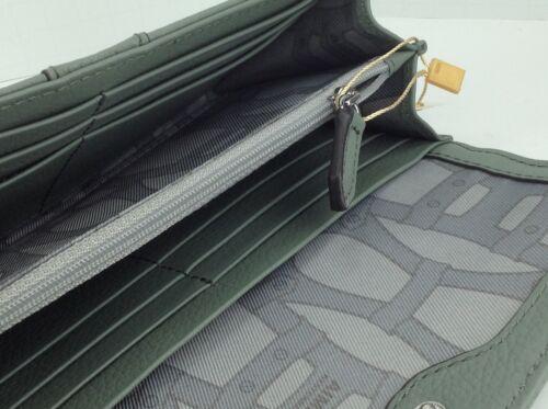 $98 MSRP Women's AIMEE KESTENBERG Soft Olive Green LEATHER Wallet