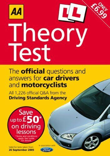 1 of 1 - AA Driving Test Theory (AA Driving Test Series)