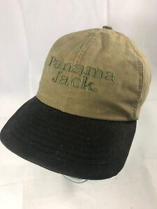 b921623bdecd6 Vintage Panama Jack Brown and Olive Green Snapback Hat 90s Cap EUC ...