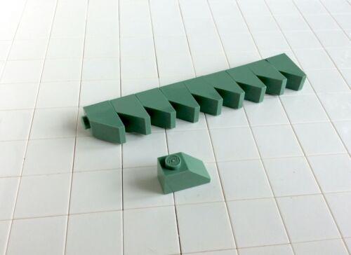 3040 Dachstein Schrägstein 1x2 grün sandgreen D # Lego 10 Stück
