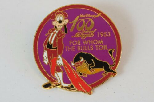 Disney JAPAN Pin Walt 100 Magic LE 1800 For Whom The Bulls Toil 1953 Goofy