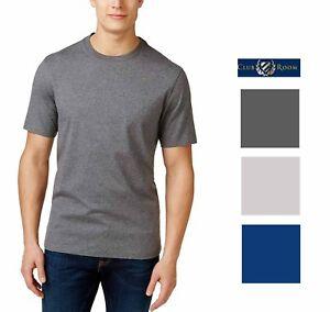Club-Room-Mens-Cotton-Crewneck-Short-Sleeve-T-Shirt