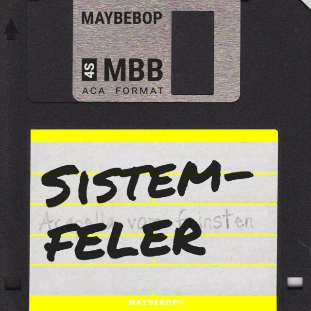 MAYBEBOP - SISTEMFELER   CD NEW