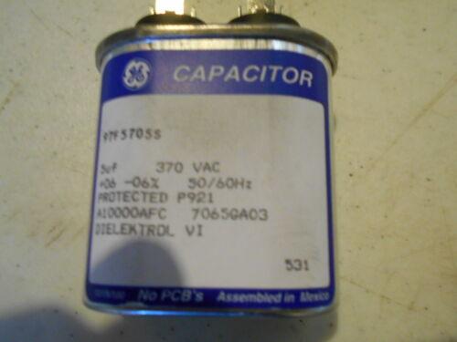 GE Capacitor 97F5705S 5uf 370 VAC NEW