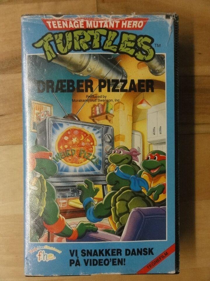Tegnefilm, VHS
