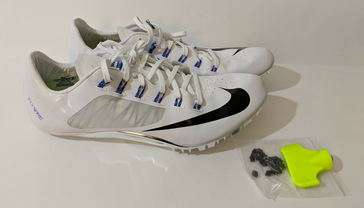 New Nike Zoom SUPERFLY R4 Track Running SZ 15 with Spikes & Tool 526626 100 180