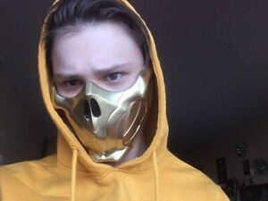 Scorpion Mask From Mortal Kombat 11 Ebay