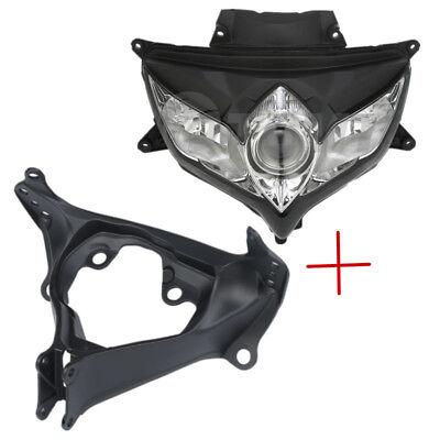 Motorcycle Front Headlight lamp For Suzuki GSXR 600 GSXR750 K8 2008 2009 2010