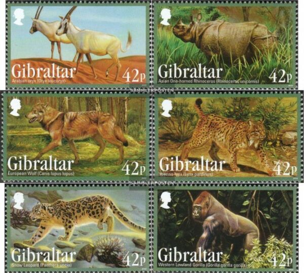 Topical Stamps Beautiful Gibraltar 1150-1153 Mint Never Hinged Mnh 2006 Conservation Teufelsrochen Animal Kingdom