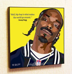 Snoop-Dogg-Painting-Decor-Print-Wall-Art-Poster-Canvas-pop-Style