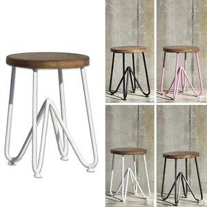 DESIGN Sitzhocker TRIANGLE Metall & Holz Hocker weiss metall pink ... | {Design hocker holz 56}