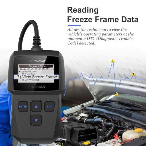 TopDon AL200 OBDII OBD2 Scanner Engnie test Code Reader EOBD Car Diagnostic Tool