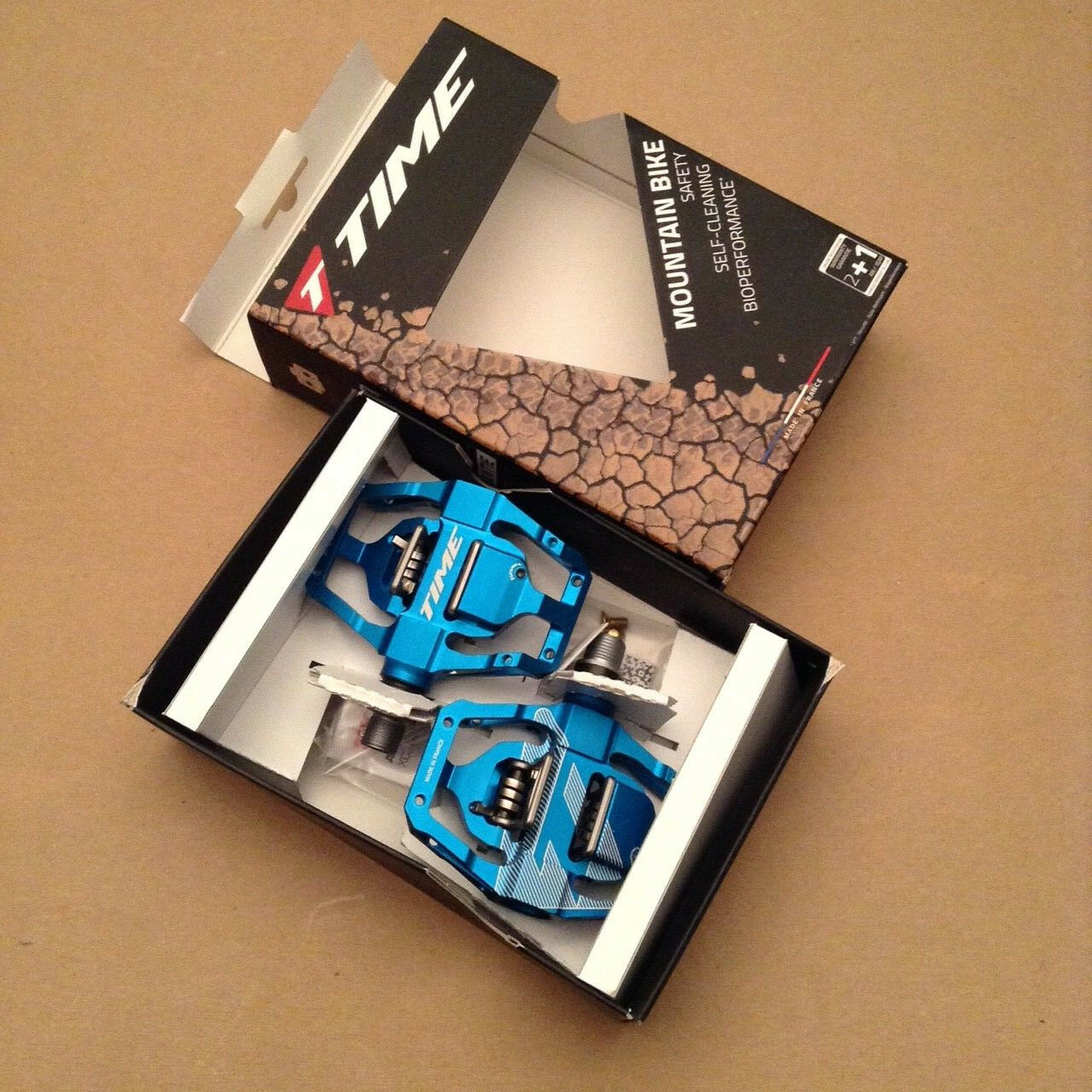 Time ATAC Speciale 12 Mountain bike pedals blu with Cleats New