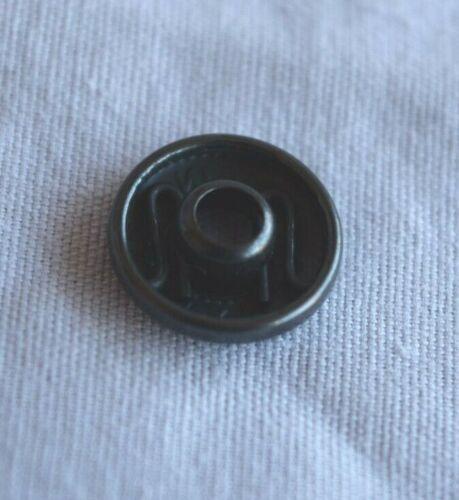 20 un. 12mm diámetro Prym botón//Snap Primavera sochet-Latón Negro Oxy