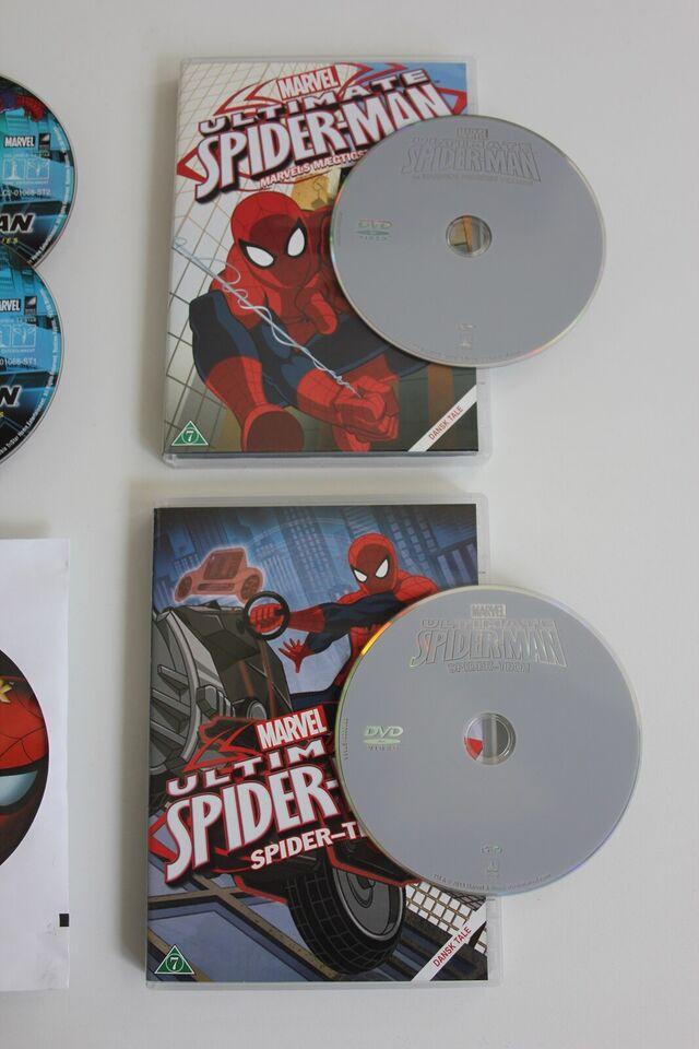Spider Man Film, DVD, familiefilm