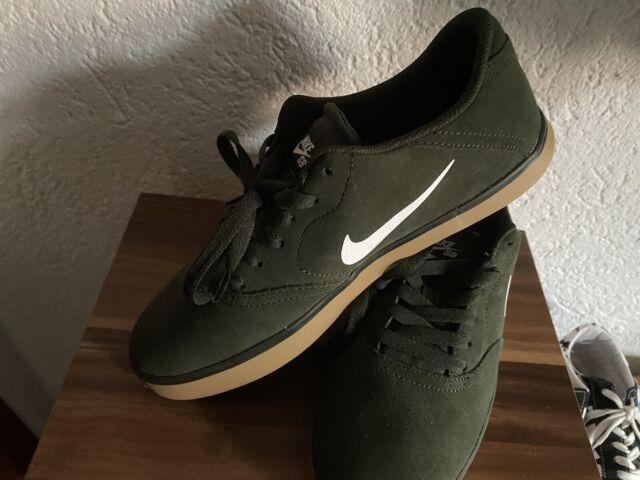 Nike SB kariert Sequoia white gum light brown 705265 312 Größe 42