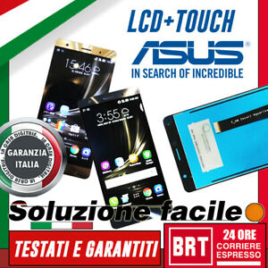 DISPLAY-LCD-TOUCH-SCREEN-ASUS-ZENFONE-3-DELUXE-ZS550KL-Z01FD-5-5-034-SCHERMO-24H