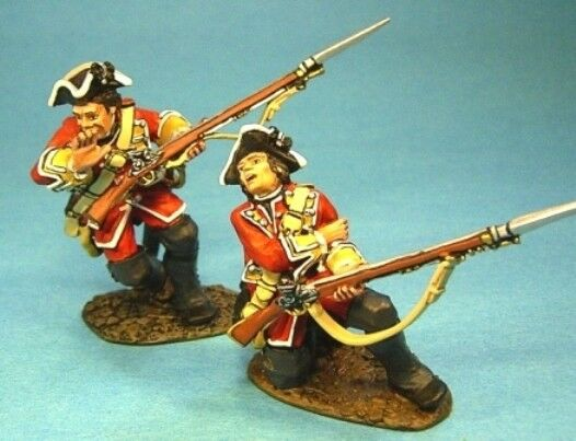 John Jenkins Plains of Abraham qb-24 Britisch 28th Firing Line verwundet MIB