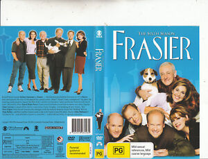 Frasier 1993 Tv Series Usa The Sixth Season 4 Dvd Dvd Ebay