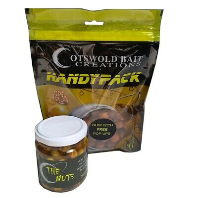 3 Bag Deal !!!! NEW Carp Fishing Cotswold Baits Tigernut Boiles Free Pop Ups